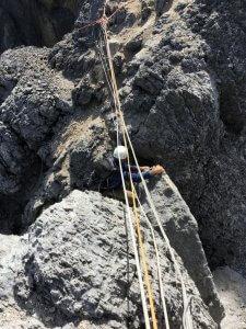 Ein Problem an der Carstensz-Pyramide