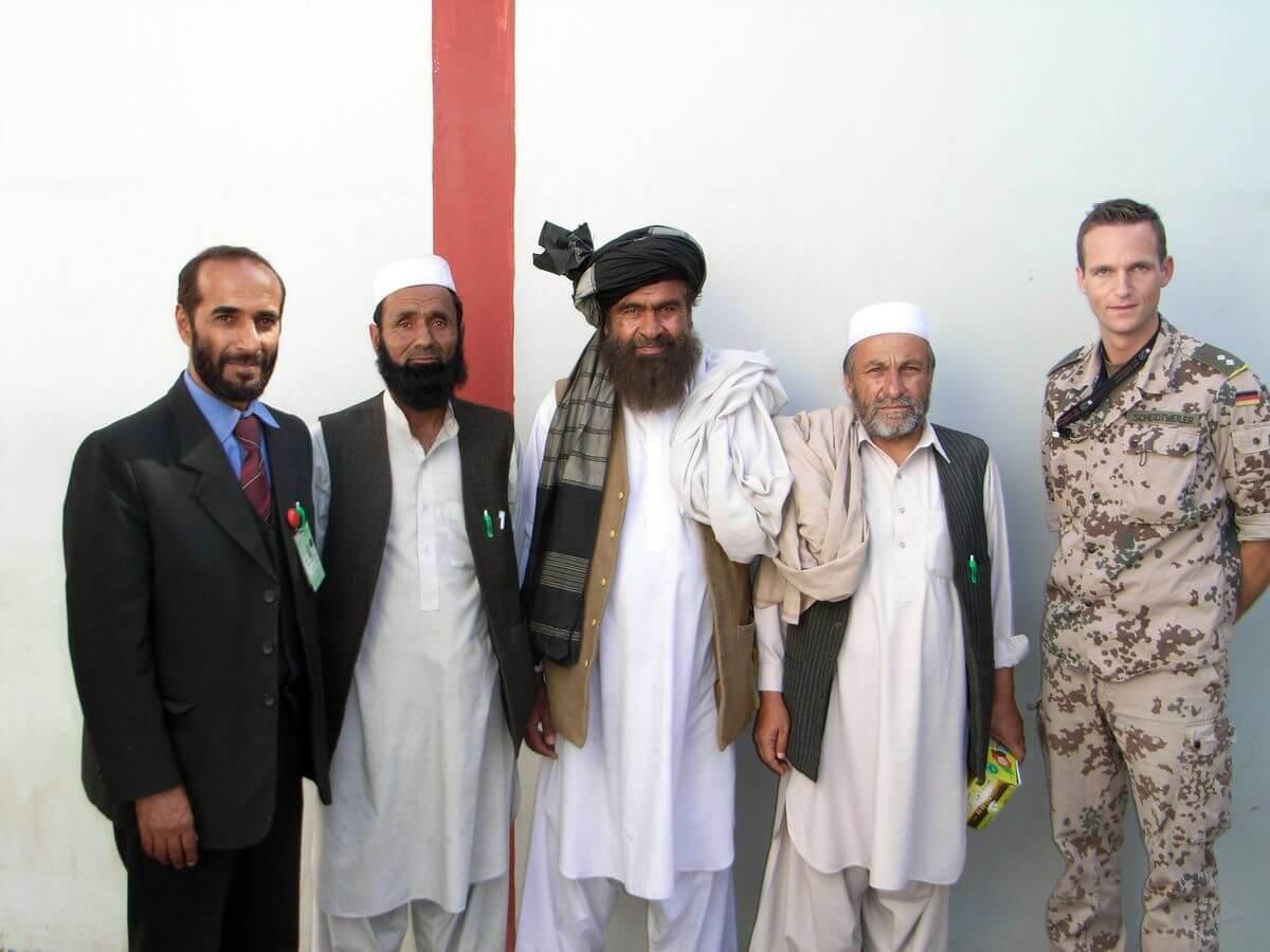 Nicolas Scheidtweiler im ISAF-Einsatz