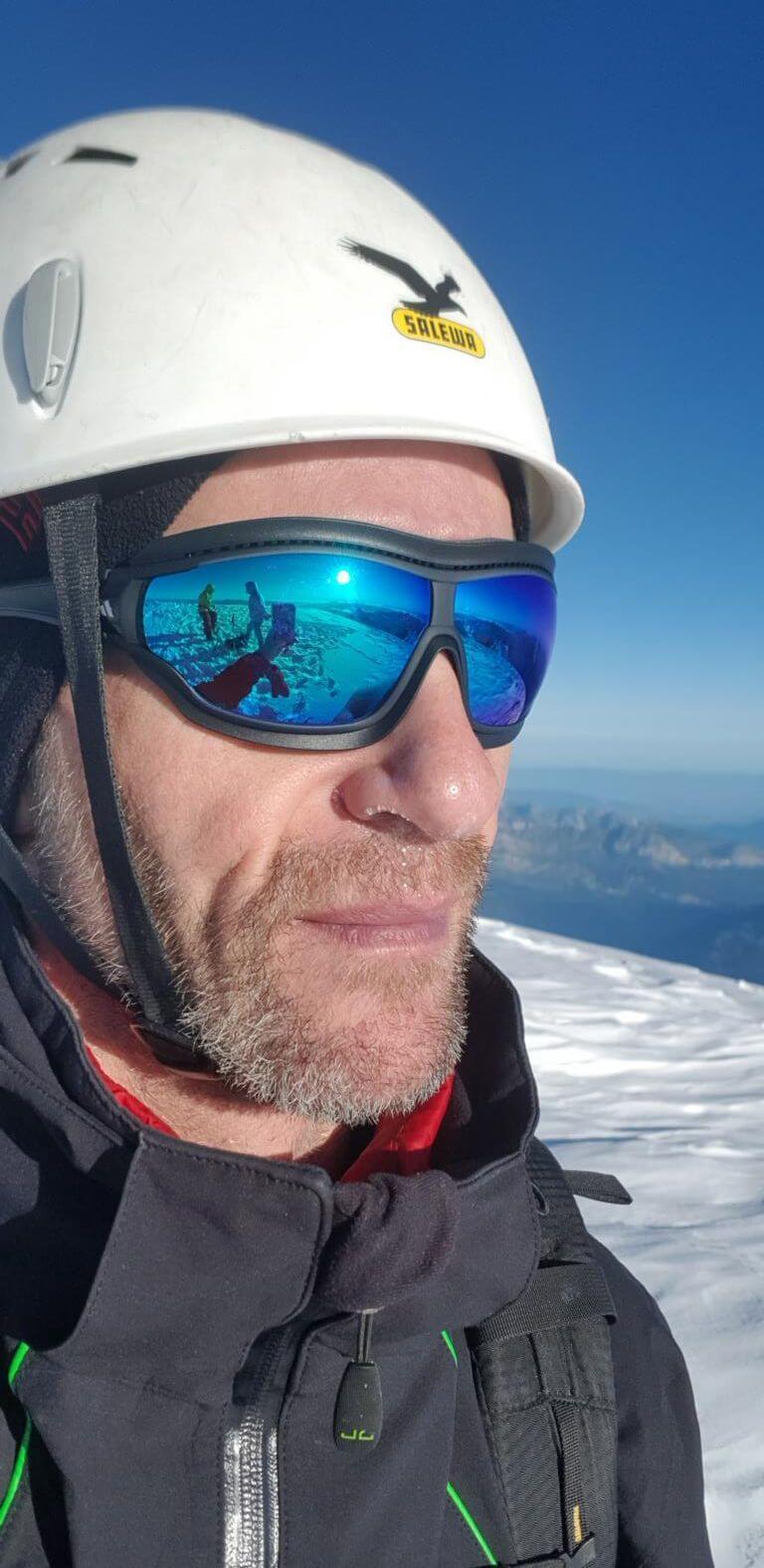 Solo am Mont Blanc