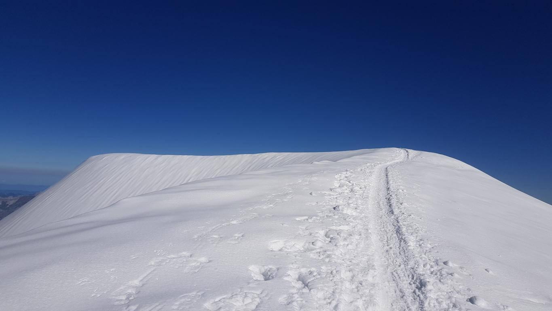 Phase der Einsamkeit am Mont Blanc Solo - 7summits4help