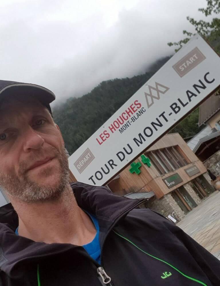 Start zum Mont Blanc in Les Houches