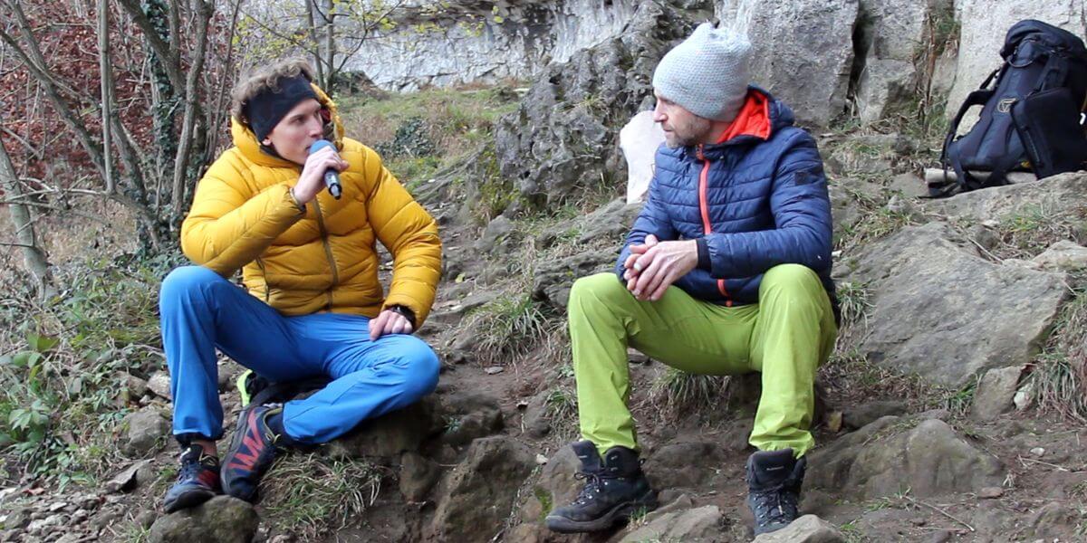 Jost Kobusch mit Nicolas Scheidtweiler im Interview in Levedagsen im Ith